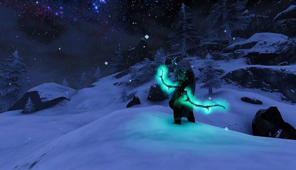 A Valheim player shows off their bow