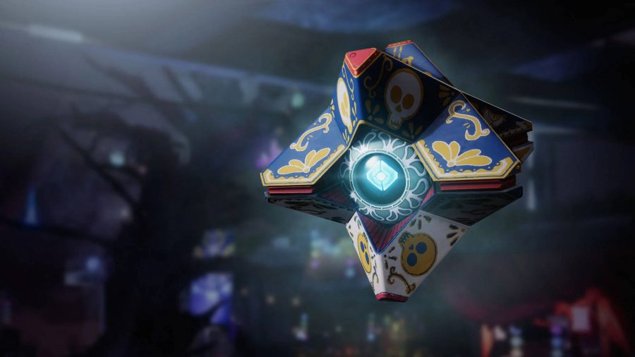 The Day of the Dead Ghost skin is one of the rewards you can get in Destiny 2 for turning in manifested pages and spectral pages.