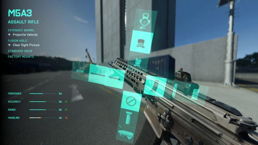The plus system in Battlefield 2042