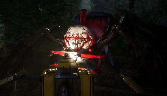 Choo-Choo Charles the evil clown spider train thing
