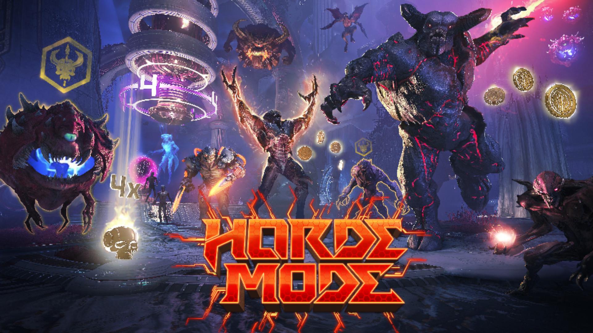 Doom Eternal's horde mode has platforming and a ton of rewards