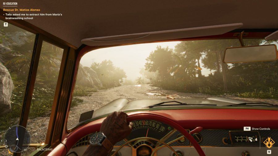 Driving in Far Cry 6