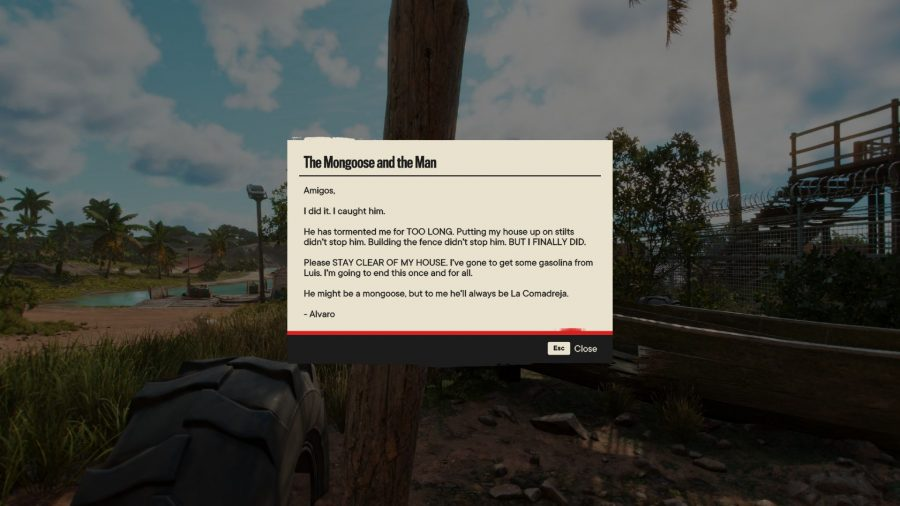 Reading Notes in Far Cry 6