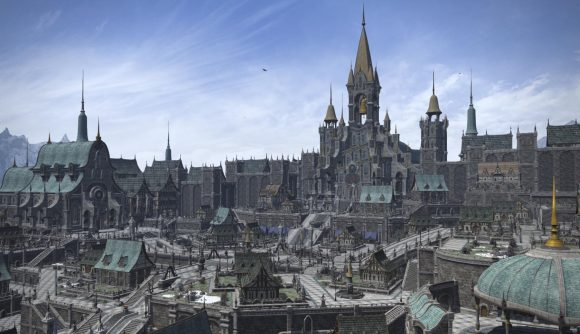 The Ishgard Residential District, which will be added in FFXIV: Endwalker
