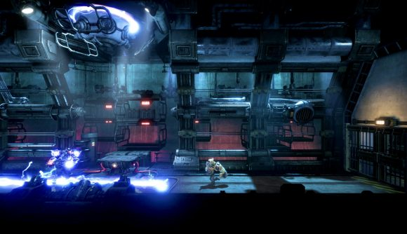 Evading an electrical attack in FIST: Forged in Shadow Torch