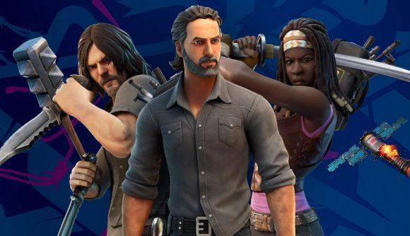 Fortnitemares adds Rick Grimes to Fortnite's The Walking Dead crossver