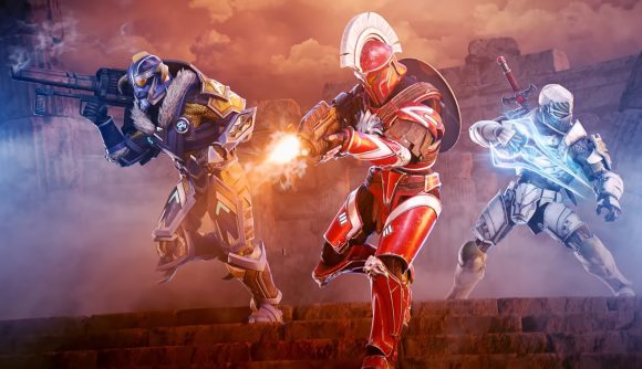 Halo Spartans appear in armour stylized to look like a Viking, a Greek Spartan, and a medieval knight.