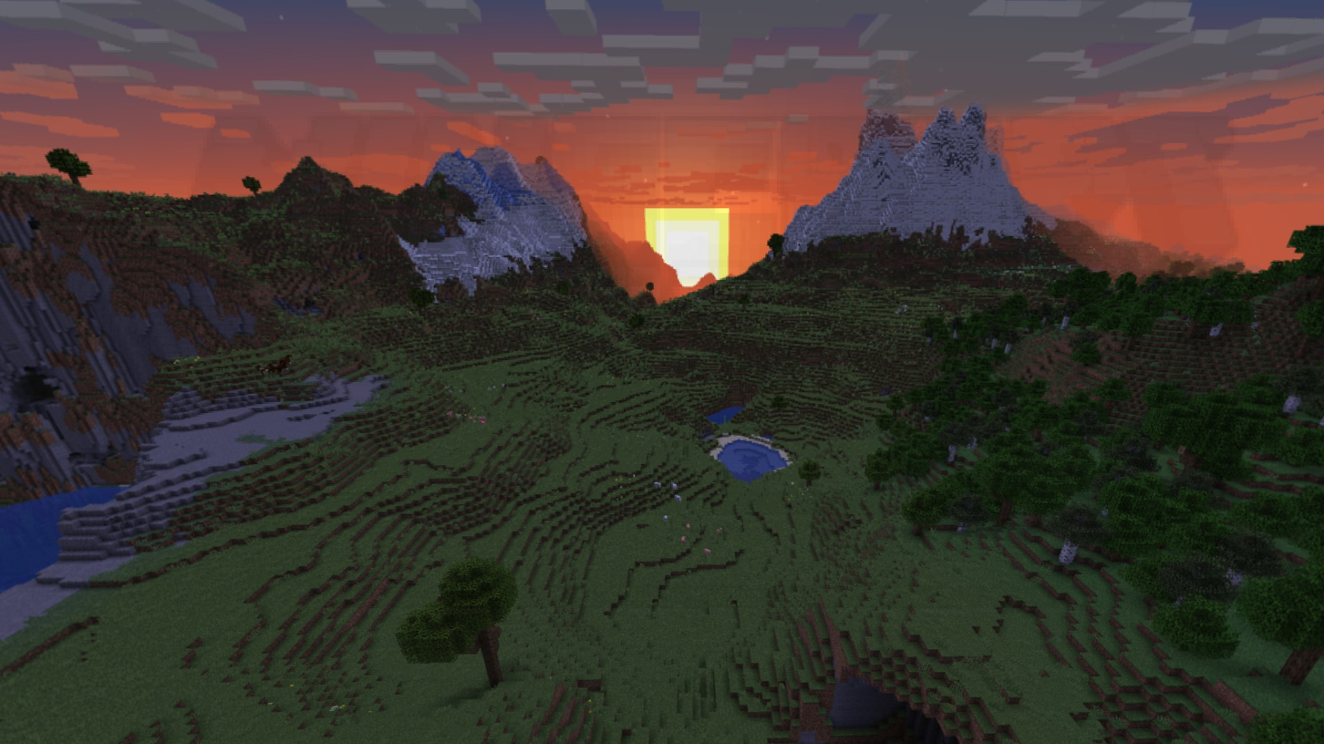 Minecraft's latest snapshot comes with a new cubemap and random number generator