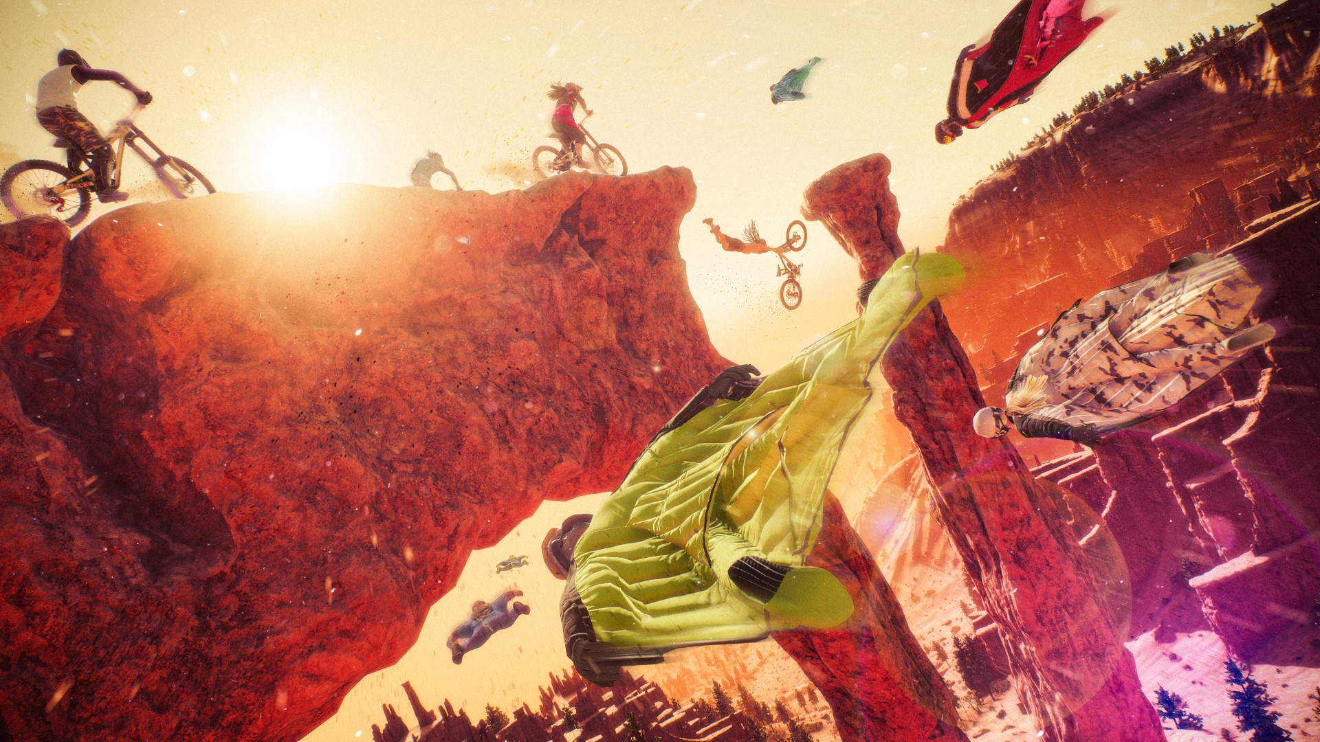 Riders Republic is holding a free PC Play Day ahead of its launch later this month