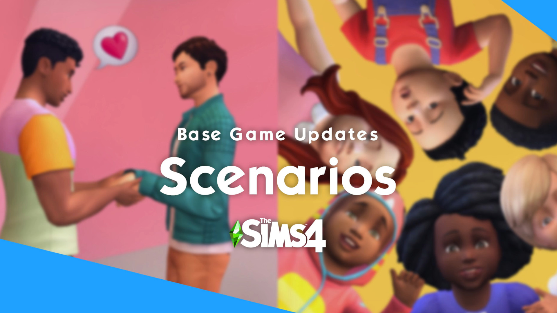 The Sims 4's next free game update adds challenge scenarios