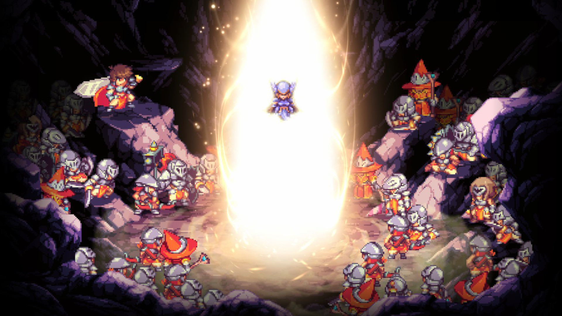 The combat in Metroidvania Souldiers looks fantastic