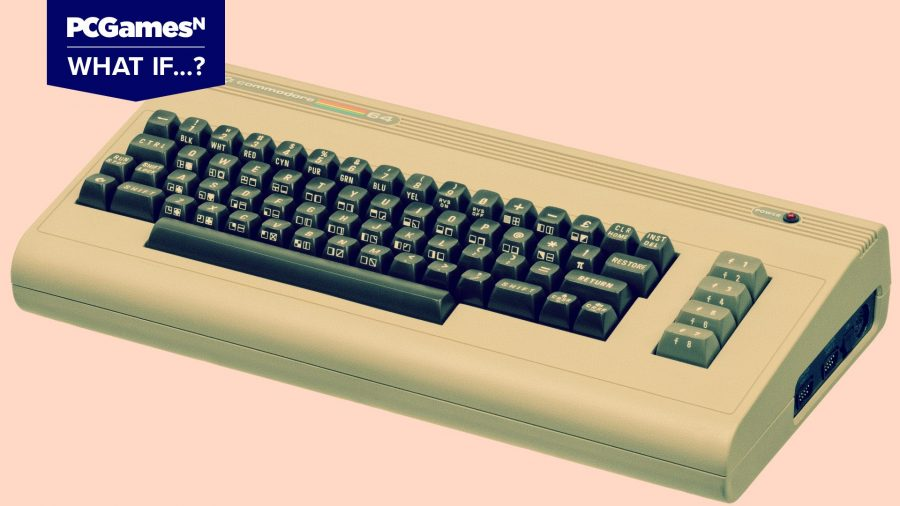 Commodore 64 showcasing the days of physical media in PC gaming