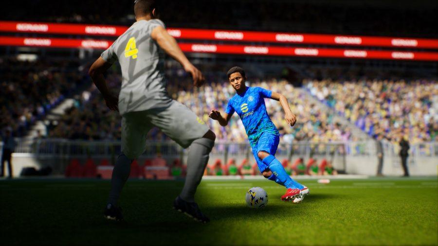 Modelos de personagens em EFootbal 2022