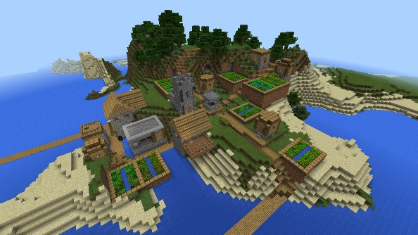 Minecraft Pocket Edition seed -8198