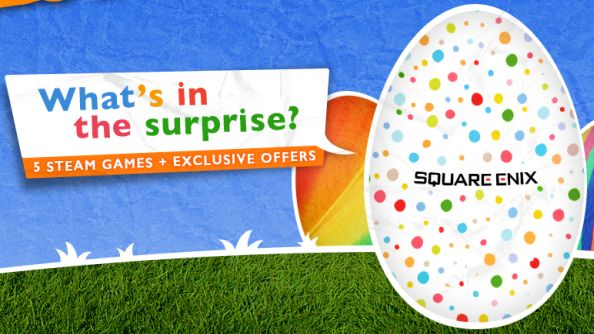 Try your luck with Square Enix's Easter Surprise; five mystery Steam games for £3.99