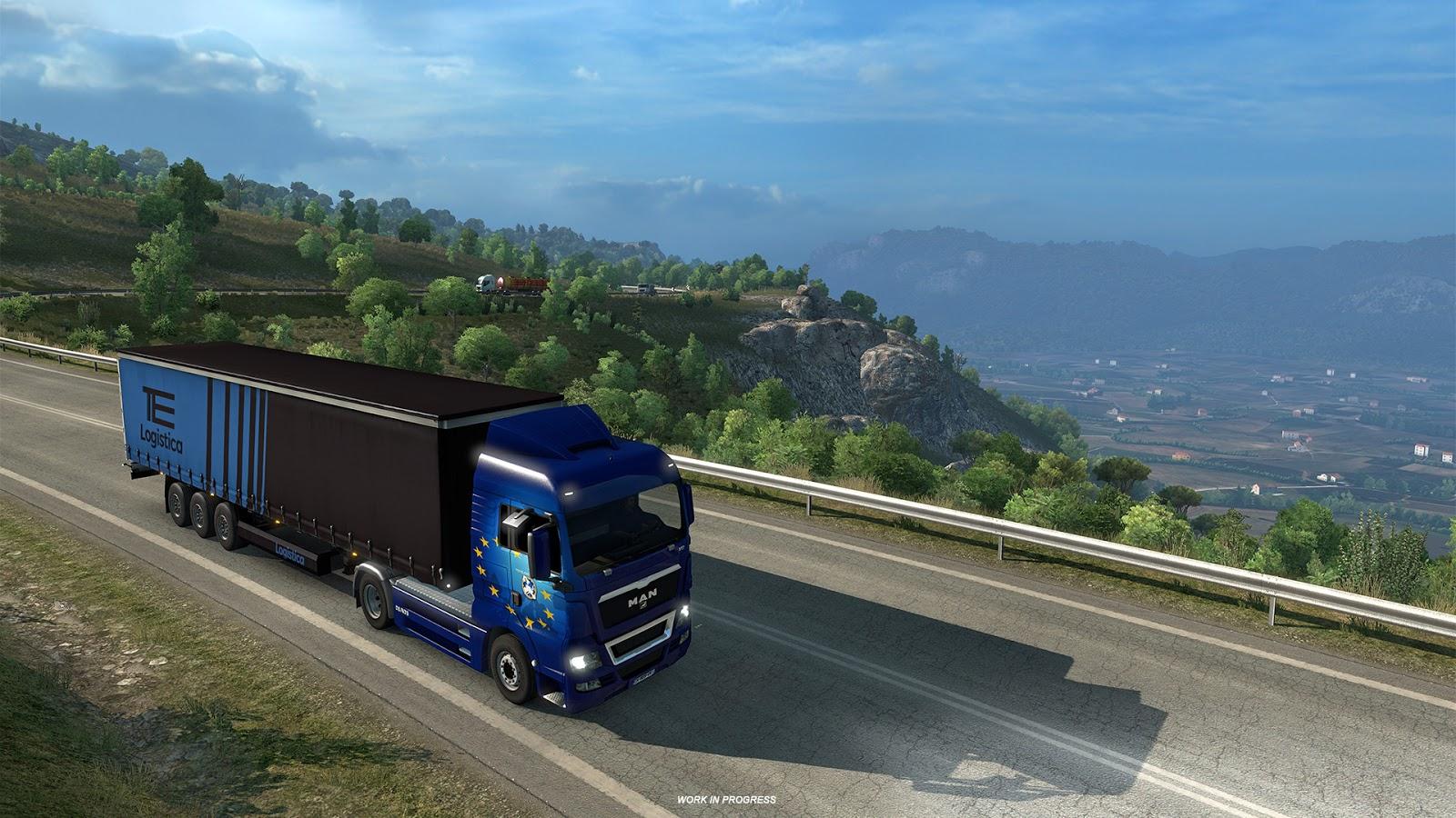 Euro Truck Simulator 2's next DLC takes you on an Italian Job