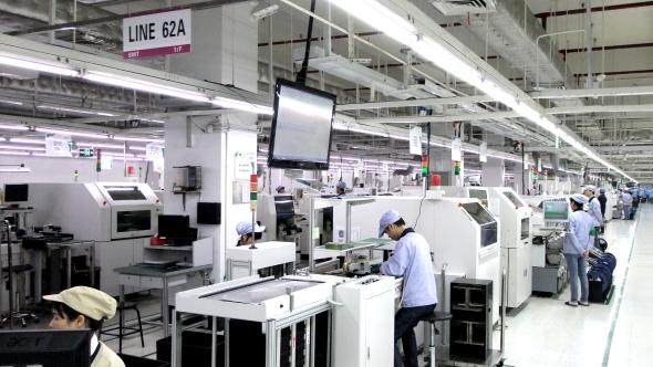 PC Partner factory floor