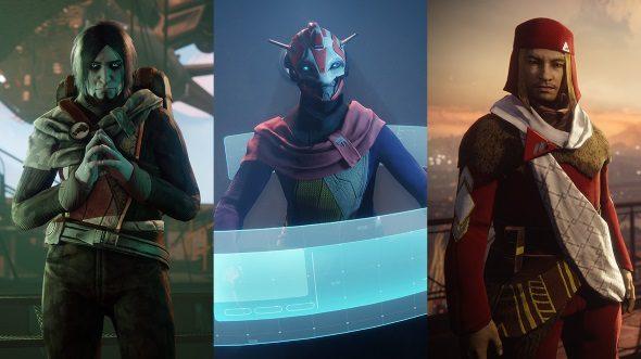 Destiny 2 Factions