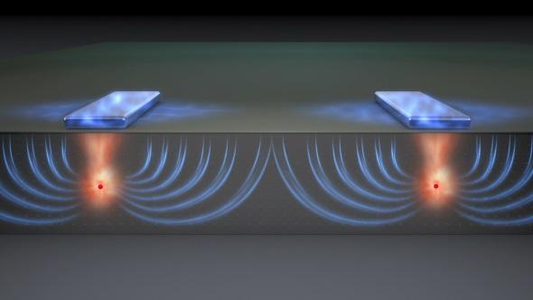 Flip-flop qubits diagram