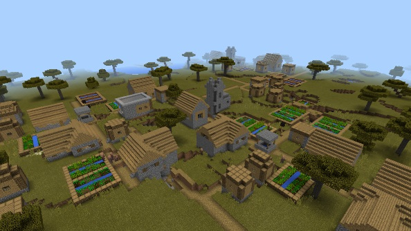 Minecraft Pocket Edition seed 1388582293