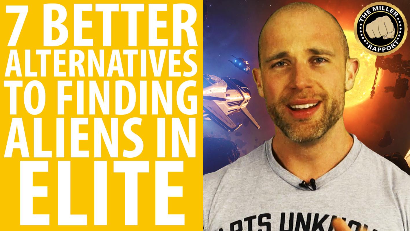 Watch Simon Miller belittle your excitement about the aliens in Elite: Dangerous