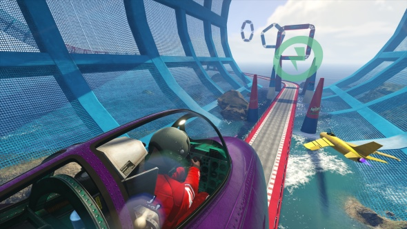 Build your own impossible dream racecourse in GTA Online's Transform Race editor