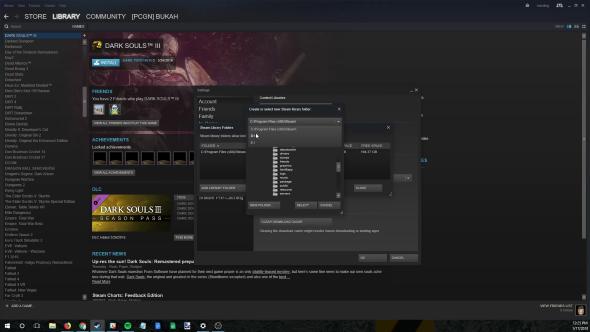 Steam move games