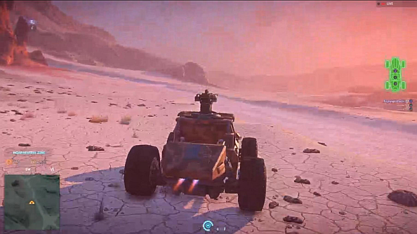 Planetside 2 test reveals the Harasser buggy and a MAX revamp