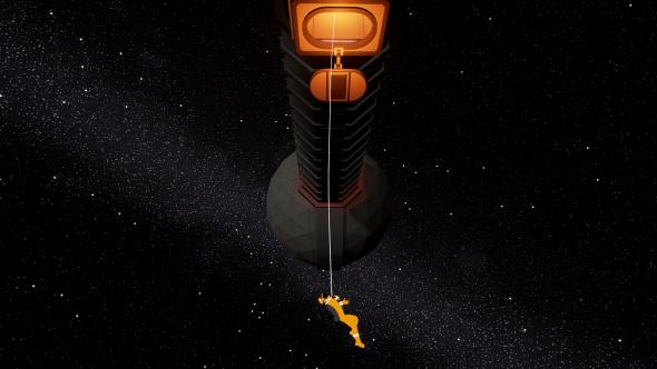 2000:1: A Space Felony centrifuge