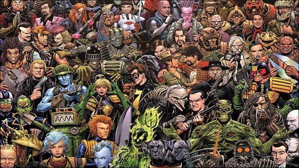 2000AD Characters