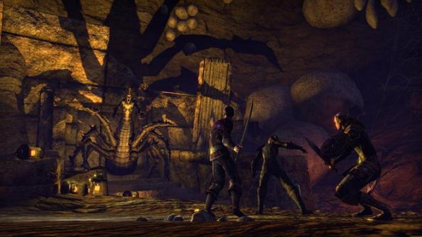 The Elder Scrolls Online Boss Fight