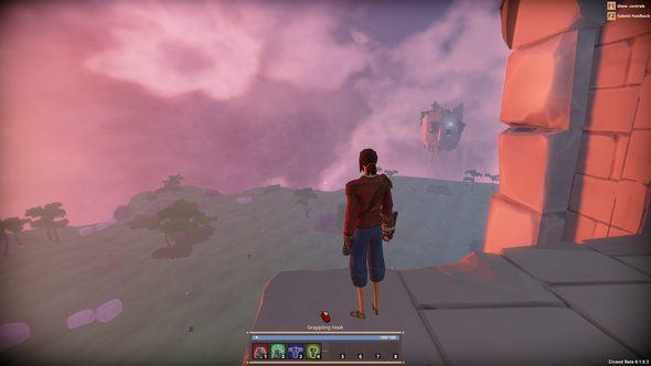 Worlds Adrift Screenshot Start