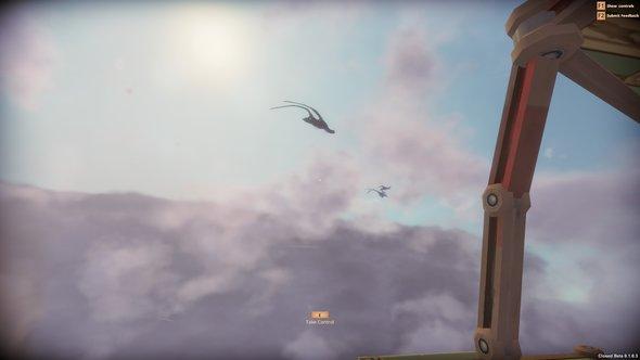 Worlds Adrift Manta Rays