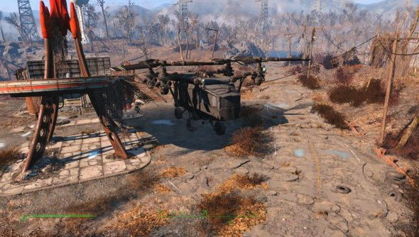 Build a base inside a Vertibird with this new Fallout 4 mod