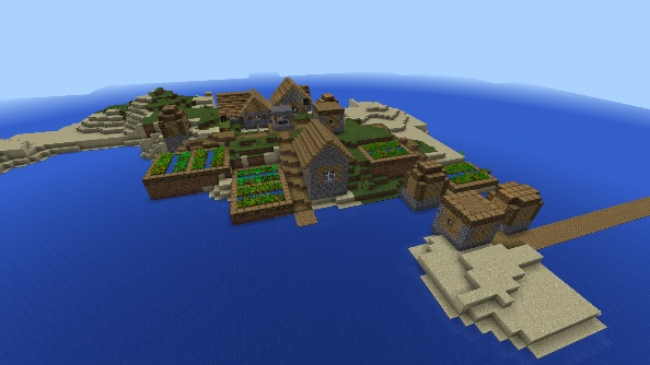 Minecraft Pocket Edition seed 26248