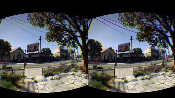 See GTA V through the eyes of the Oculus Rift with this virtual reality mod