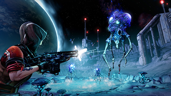 Borderlands: The Pre-Sequel goes to the moon, lets you play as Claptrap