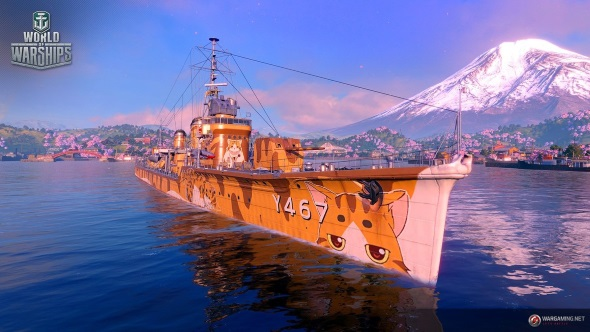 Paint anime cats on your hull in World of Warships' second High School Fleet crossover