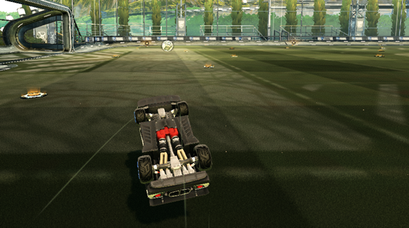 Rocket League tips half flip