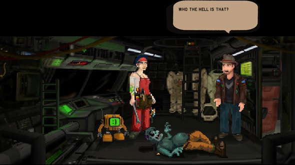 Free games: Win a Steam key for comedy space-adventure 3030 Deathwar Redux, now with mods!