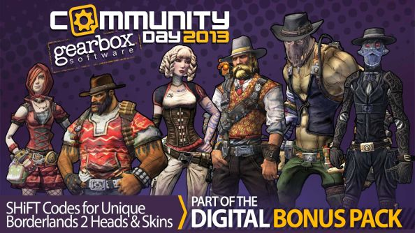 "Gearbox's digital bonus pack offers beta access to an ""unannounced title"""