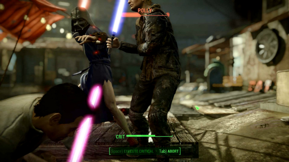 Fallout 4 Wall Light Not Working : Inevitably, modders have added working lightsabers to Fallout 4 PCGamesN
