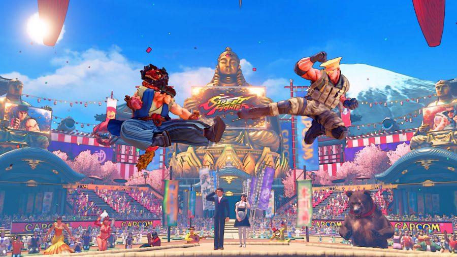 Street Fighter V - CPT Stage