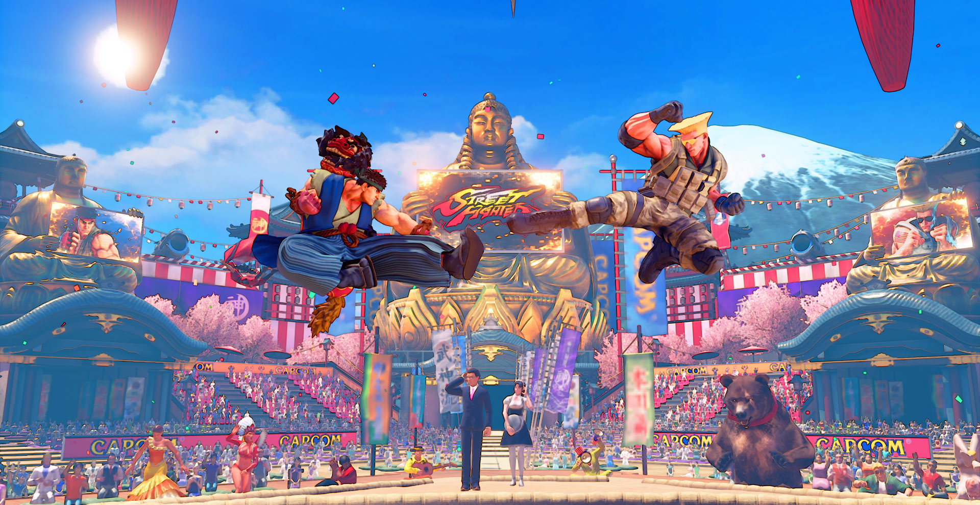New stages and costumes are coming to Street Fighter 5 later this month