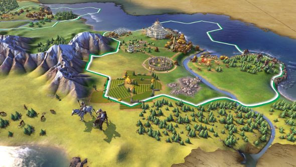 60 turns with Civilization 6
