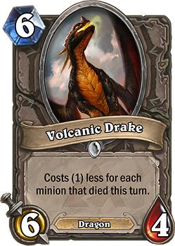 Volcanic Drake Hearthstone BR