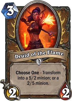 Druid of the Flame BRM