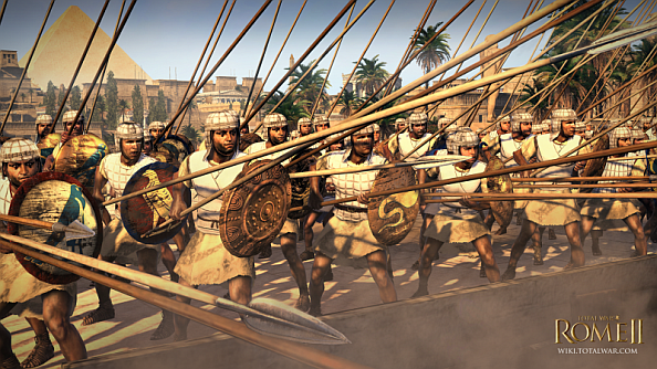Total War: Rome 2's Egyptian faction revealed: the ones with the elephants