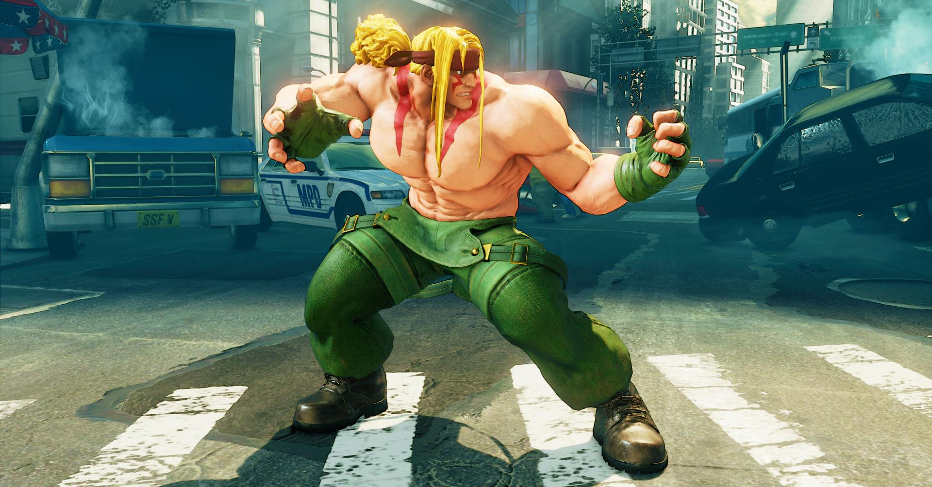 Street Fighter V - Alex