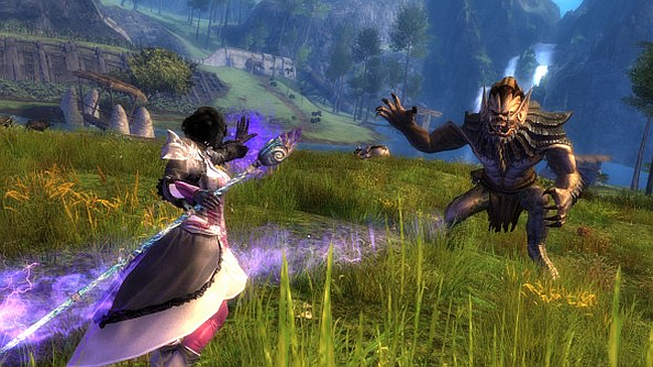 "Guild Wars 2 dynamic levelling system adjustment ""allow players to enjoy content on any map at any level."""